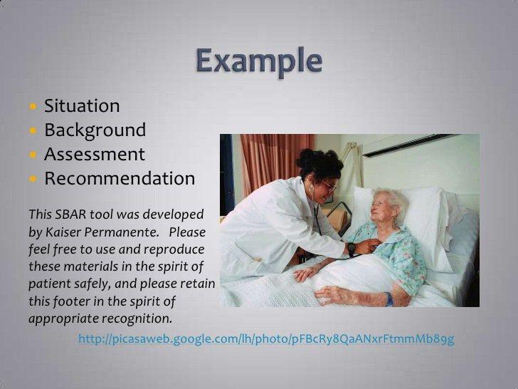 SBAR presentation