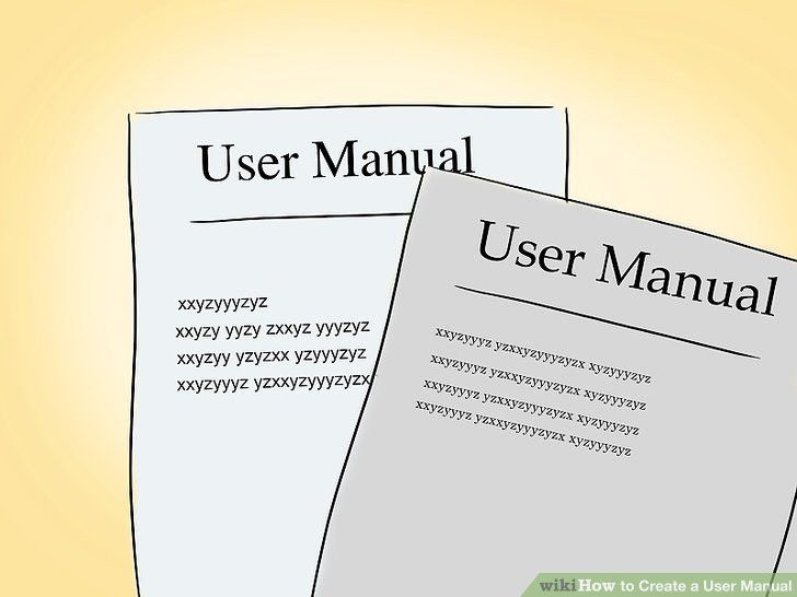 How to Create a User Manual: 12 Steps (with Pictures) - wikiHow