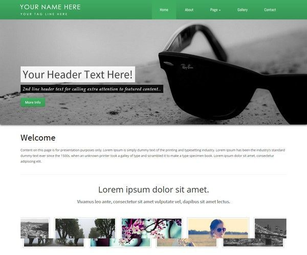35+ Best Business Corporate Bootstrap Templates | Free & Premium