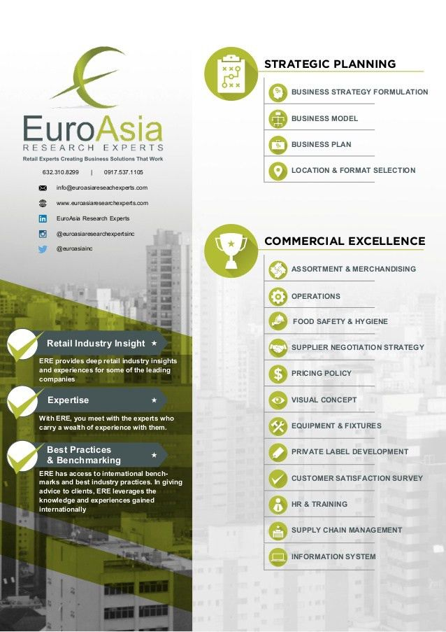 ERE Company Profile (Single Page)
