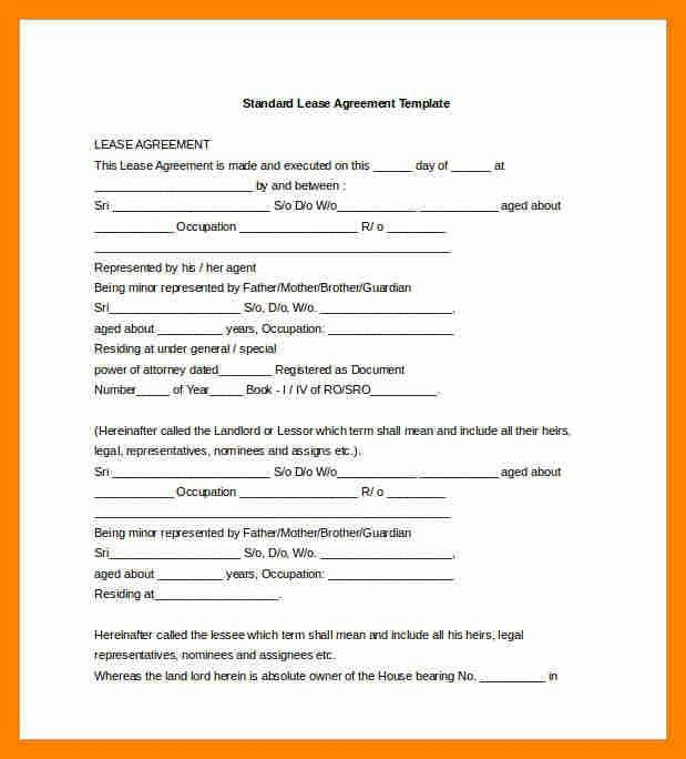 12+ agreement template doc | resume sections