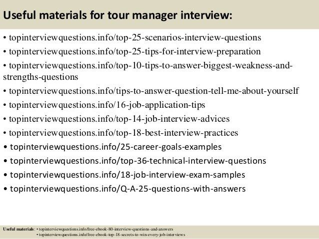tour guide resume job description. tour manager job description ...