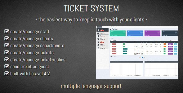 TICKET SYSTEM – Customer Support Software Free Download - Download ...