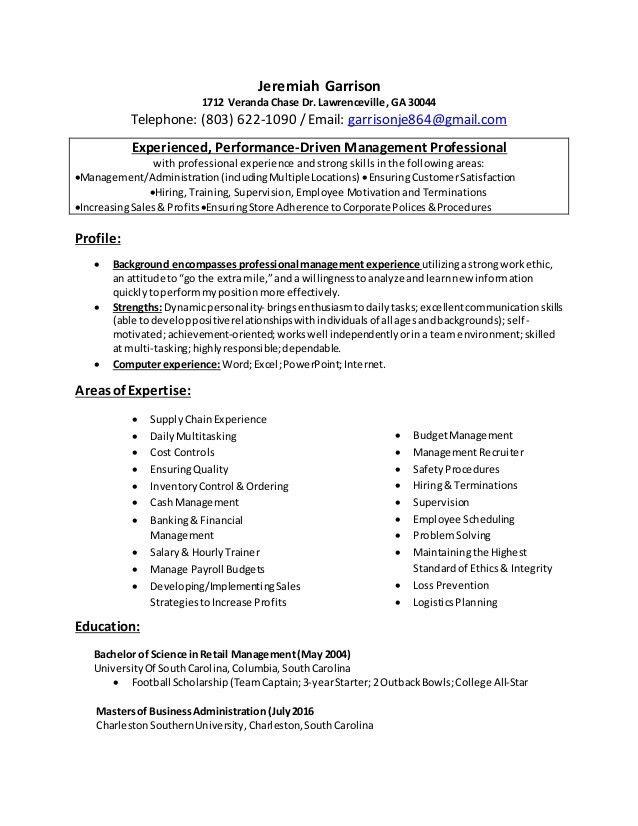 100+ [ Logistics Job Resume ] | Best 25 Sales Resume Ideas On ...