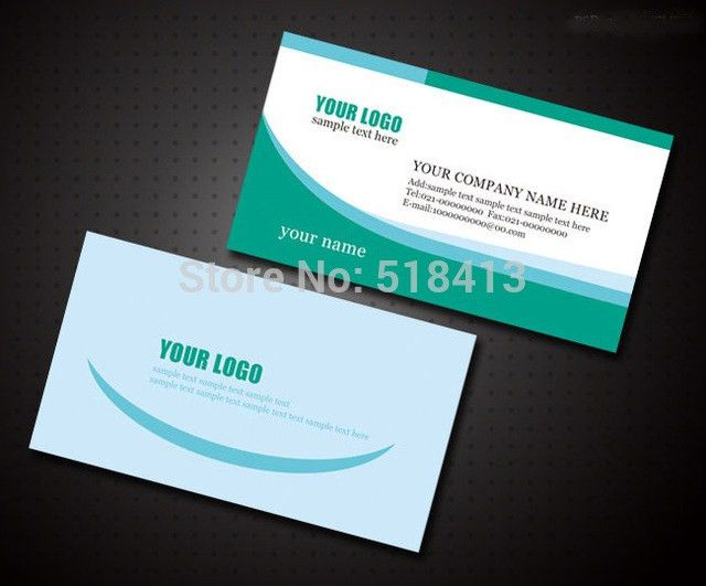 Aliexpress.com : Buy business card template for it business card ...