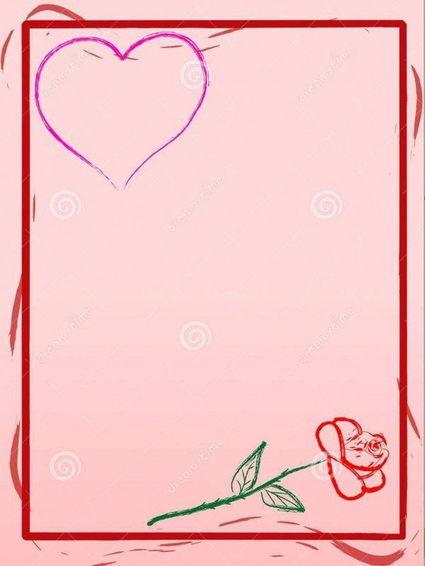 Templates for love letters
