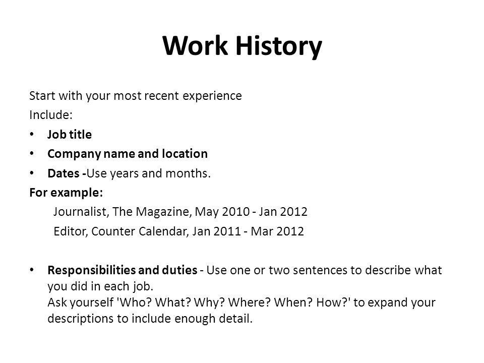 Writing Resumes. Your Resume Tells an Employer how well you ...