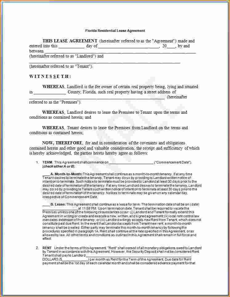 Lease Agreement Form Sample. Sample Car Lease Agreement Form ...