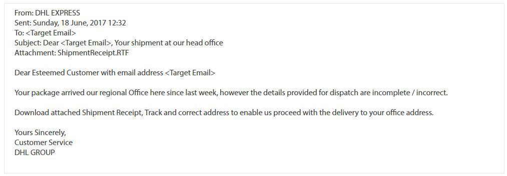 Waiting for a shipment? Be careful of emails from 'logistics ...