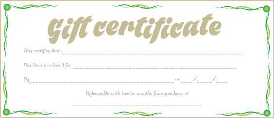 Festive Decorating Christmas Gift Certificate Template #christmas ...