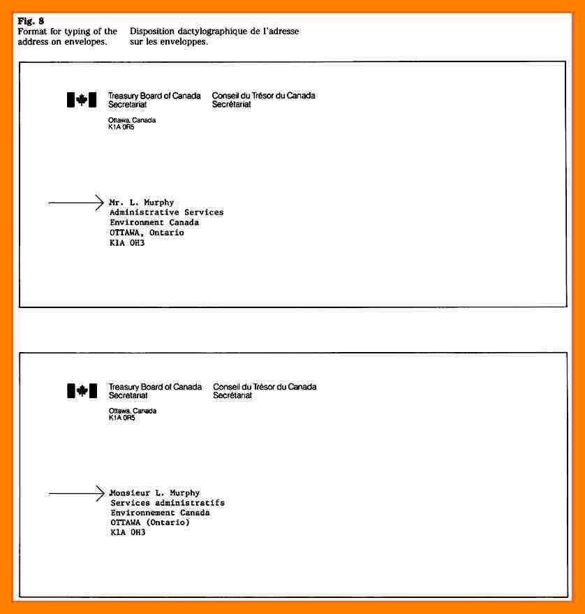 5+ how to write address on envelope canada | emt resume