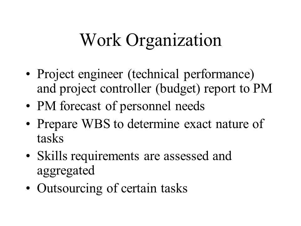 Project Organization. - ppt video online download