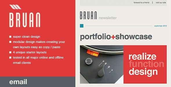 Free and Premium New HTML Email Newsletter Templates - Designmodo