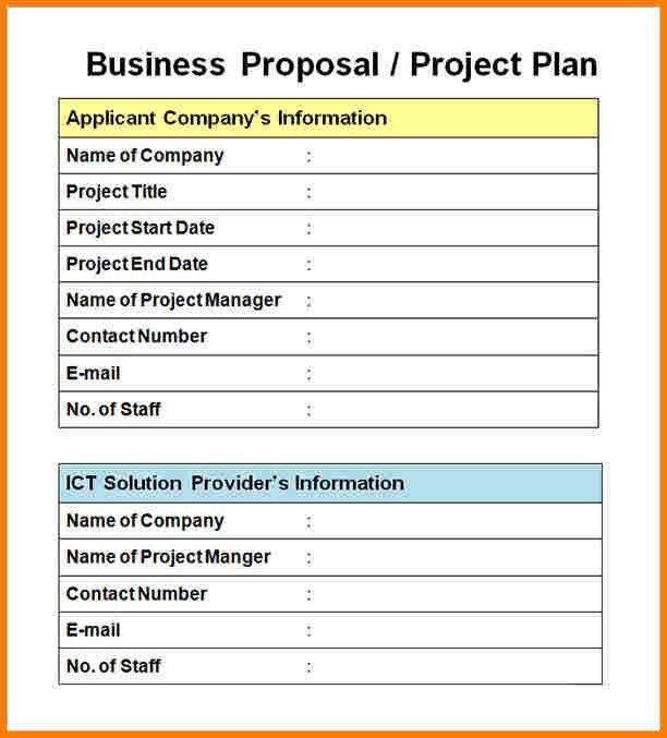 10+ business project proposal example | Proposal Template 2017