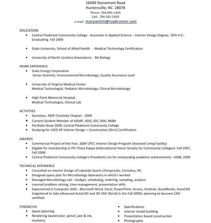 Enjoyable Medical Technologist Resume 3 Laboratory Technician ...