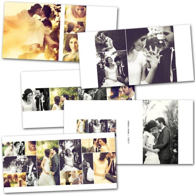 InDesign templates for albums....Wedding favorite! #etsyweddings ...