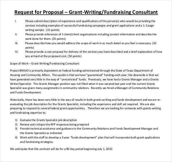 Grant Proposal Template - 33+ Free Word, Excel, PDF, PPT Format ...