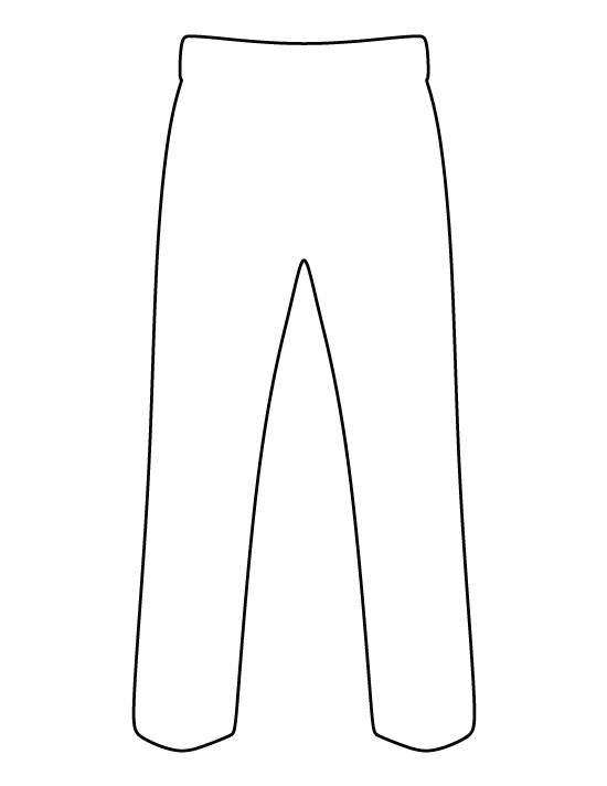 T-Shirt pattern. Use the printable outline for crafts, creating ...
