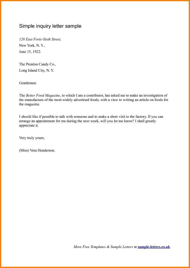 The 25+ best Formal business letter format ideas on Pinterest ...