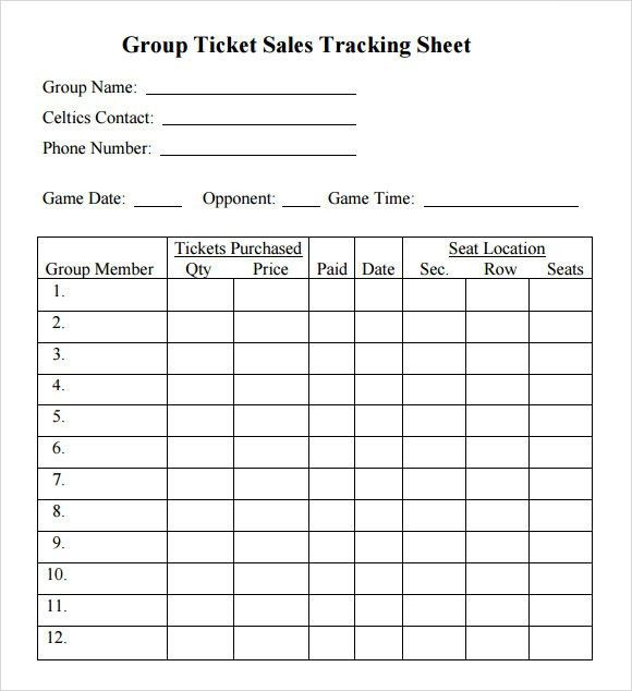 Sample Sales Tracking - 5+ Documents in Word, PDF