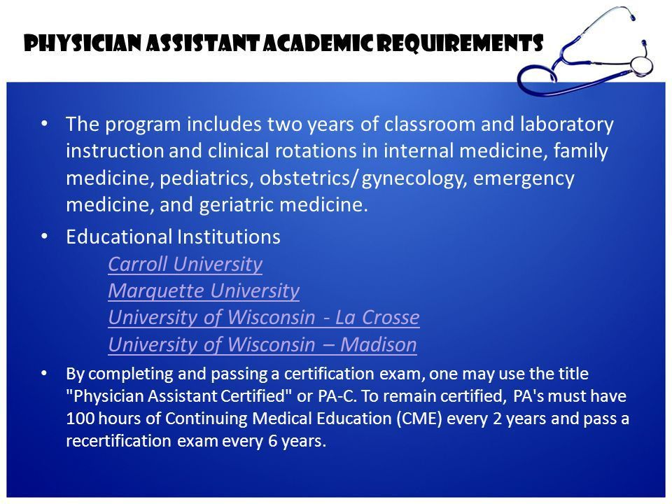 Doctor of Osteopathic Medicine - ppt download