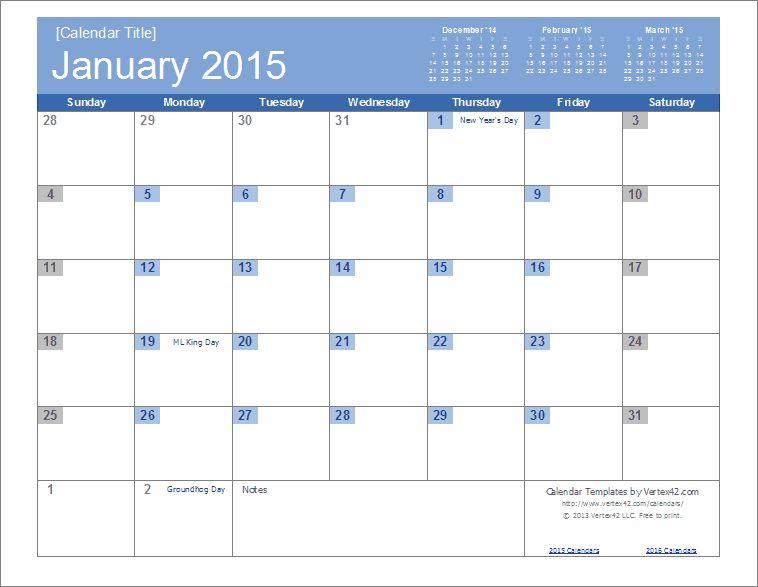 2015 Calendar Template   eknom-jo