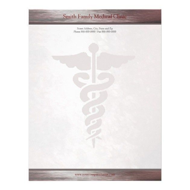 Medical Professional Letterhead, Custom Medical Professional ...
