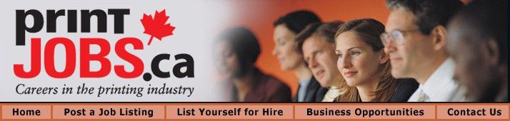 Bindery Job Board - Print jobs canada - careers in the printing ...