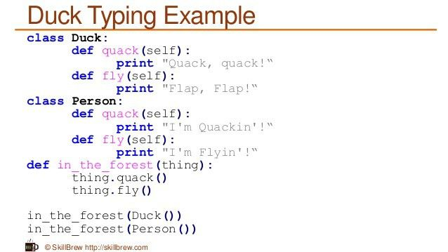 Python Programming Essentials - M33 - Duck Typing