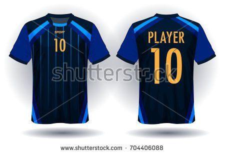 Soccer Sports Jersey Vectors - Download Free Vector Art, Stock ...