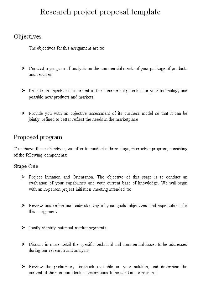 Scientific research proposal outline - Get Qualified Custom ...