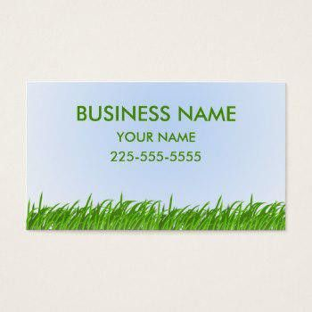 Lawn Care Business Cards   Business Cards 100