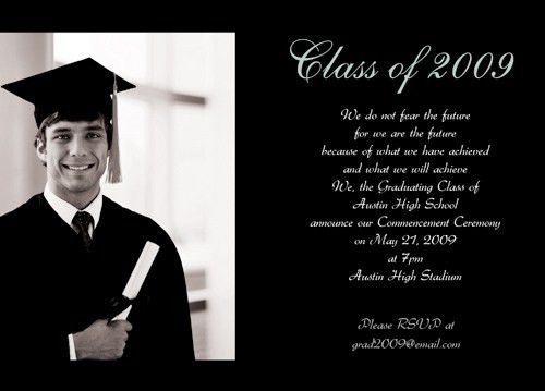 Online Graduation Invitations with many template samples #36996 ...