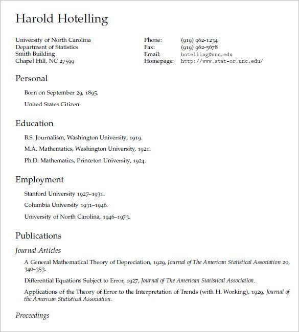 resume template tex