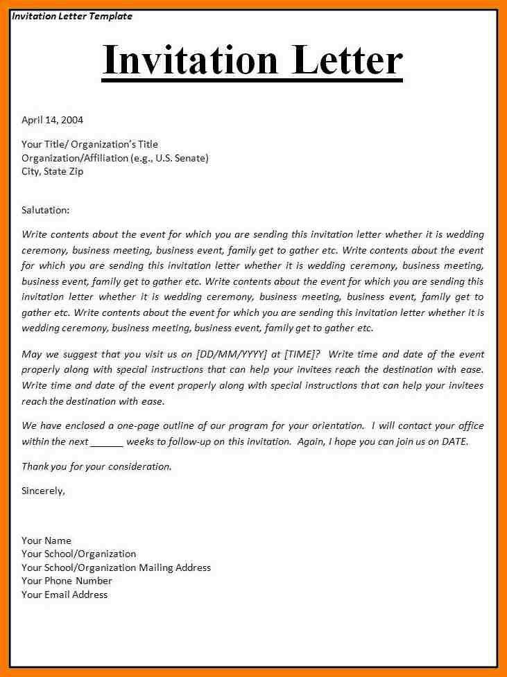 12+ inviting letter format | park-attendant