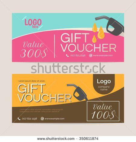 Gift Voucher Template Eps10 Vector Format Stock Vector 336639896 ...