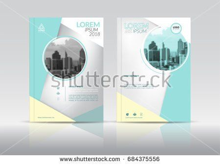 Annual Report Cover Flyer Presentation Brochure Stock Vector ...