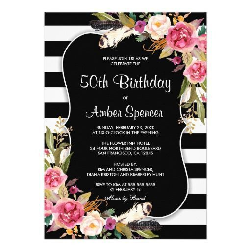 89 best Birthday Party Invitation Templates images on Pinterest ...