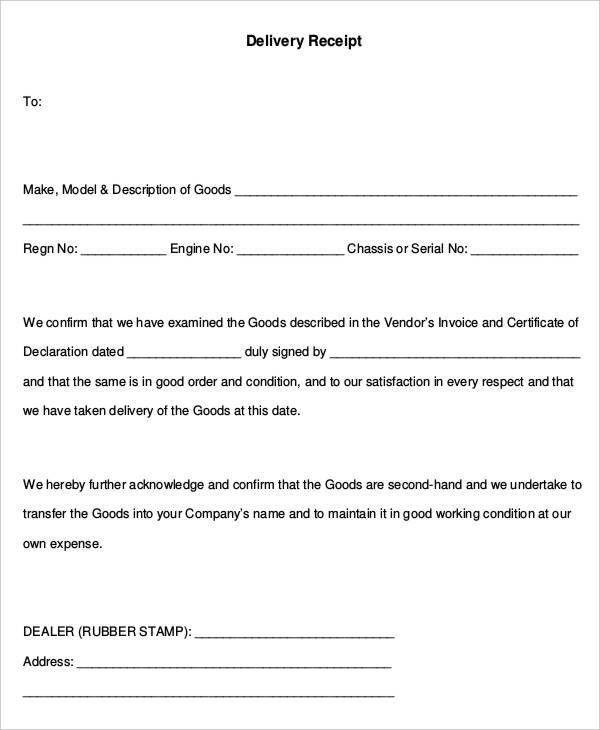20+ Receipt Templates in PDF | Free & Premium Templates