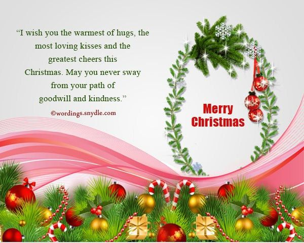 Merry Christmas Messages For Facebook Friends - Wordings and Messages