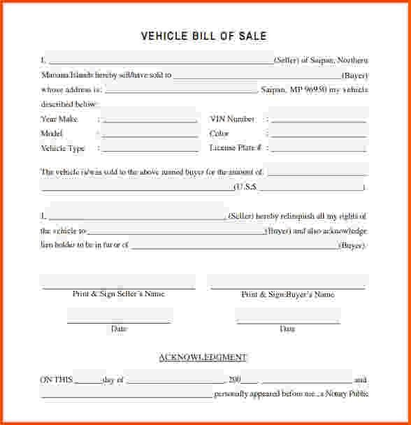 11+ bill of sale template word | Survey Template Words