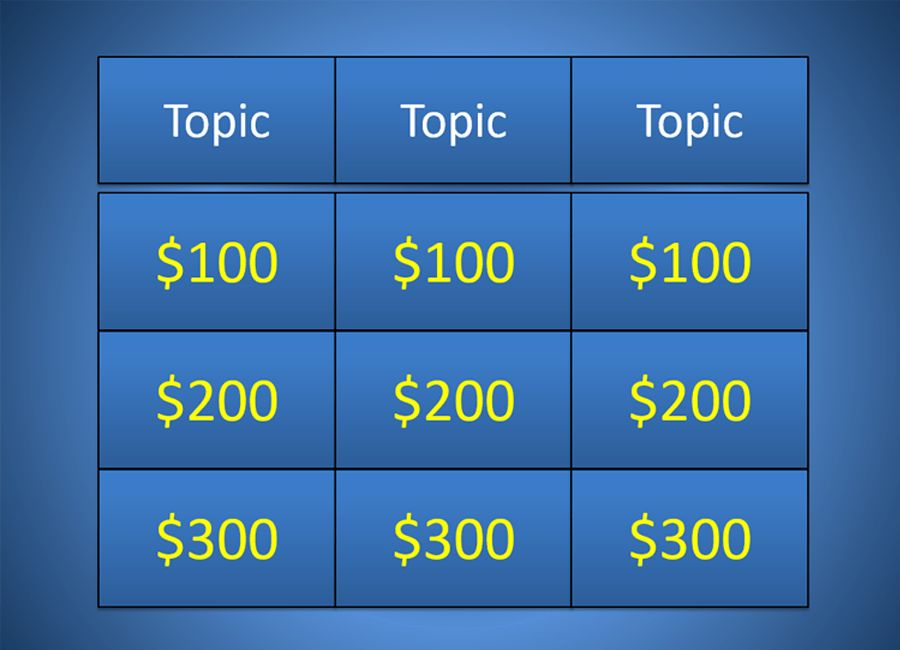 Jeopardy Powerpoint Template 2010 - Metlic.info