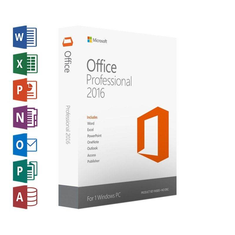 Microsoft Office Professional 2016~ Product Key