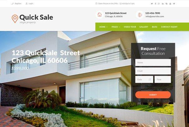 60+ Best HTML Real Estate Website Templates 2017