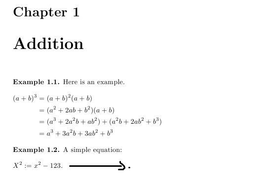 Positioning of equations (begin equation command) - TeX - LaTeX ...