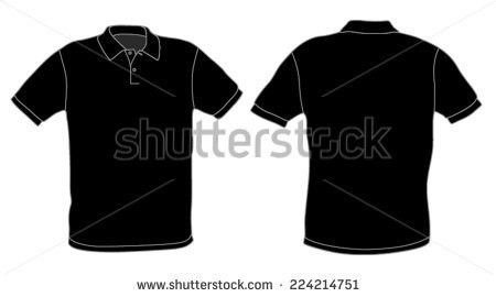 Polo Shirt Template Stock Images, Royalty-Free Images & Vectors ...