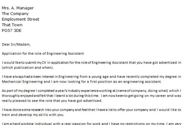 Health And Safety Engineer Cover Letter