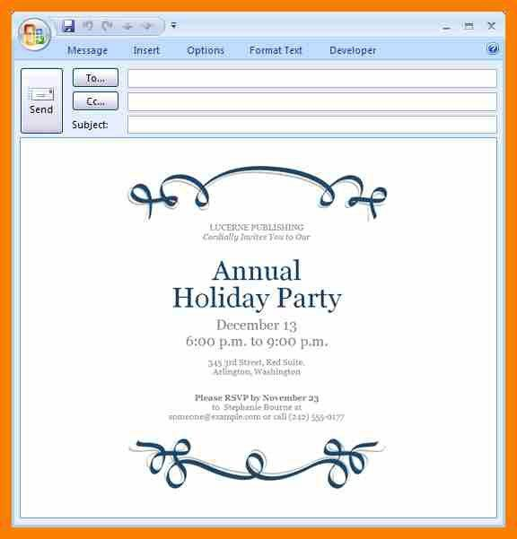 3+ free holiday party invitation templates word | hostess resume