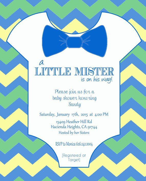 Items similar to Onesie Baby Shower Invitation Template - DIY ...