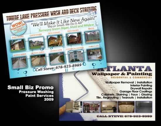 Flyers: ATL's Pressure Wash & Painting |